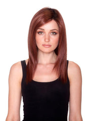 Straight Press 18 | Heat Friendly Synthetic Wig (Lace Front Monofilament)