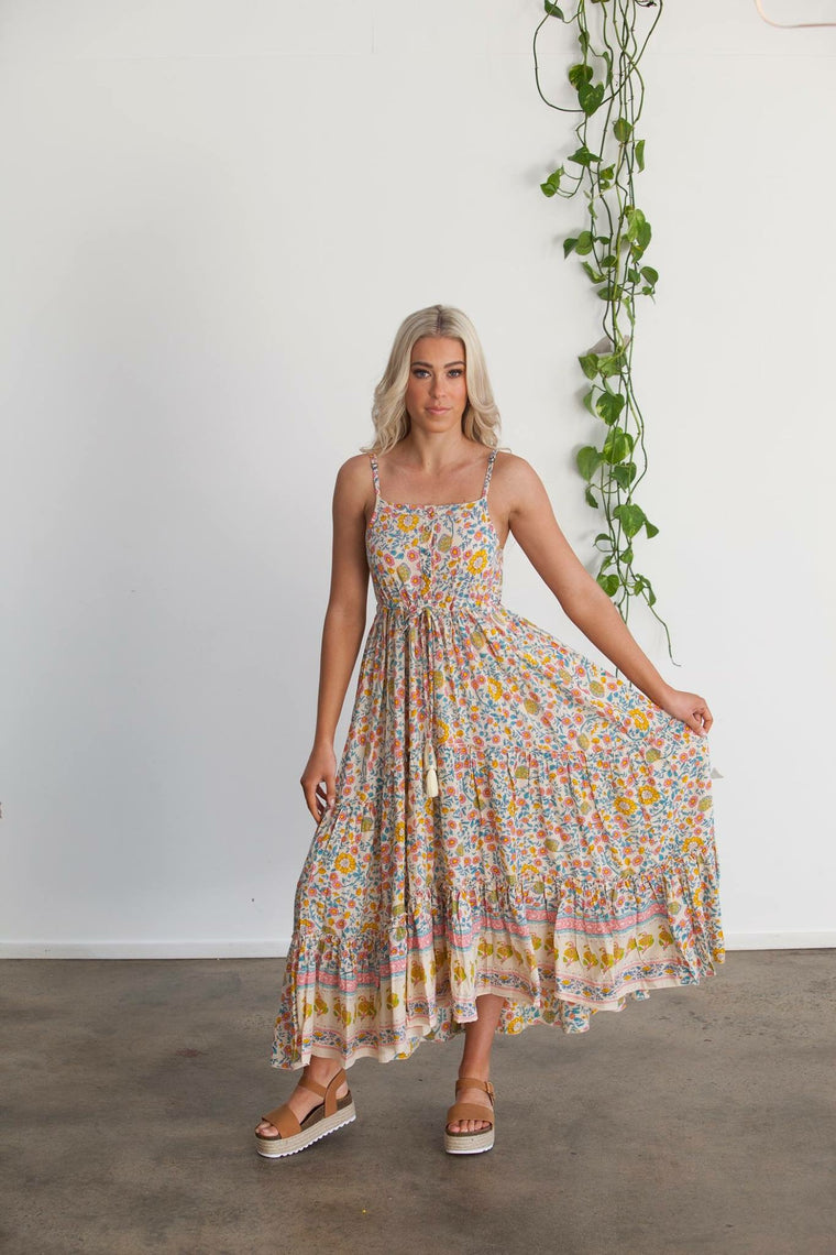 Woodstock Sundress Desert Rose