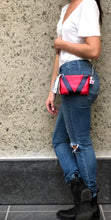 Red and Blue Metallic V3 Crossbody