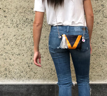 Navy and Orange V3 Crossbody