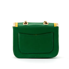 Ryland Cross Body Green, Yellow and Gold