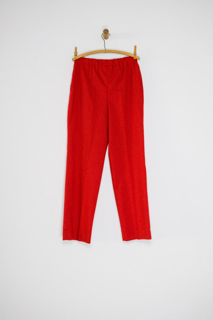 1980's CHERRY HALSTON PANTS / 28