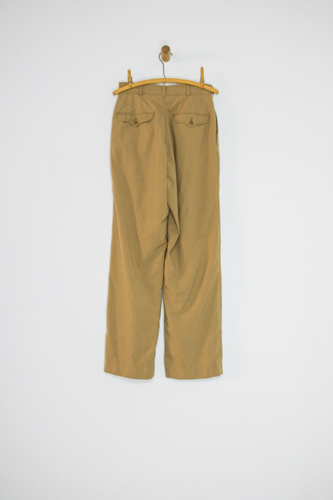 70's ARMY TROUSERS / 28