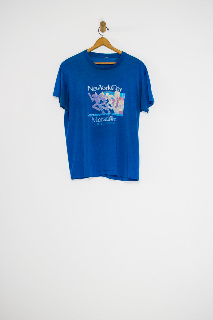 80's NEW YORK CITY MARATHON TEE / MEDIUM