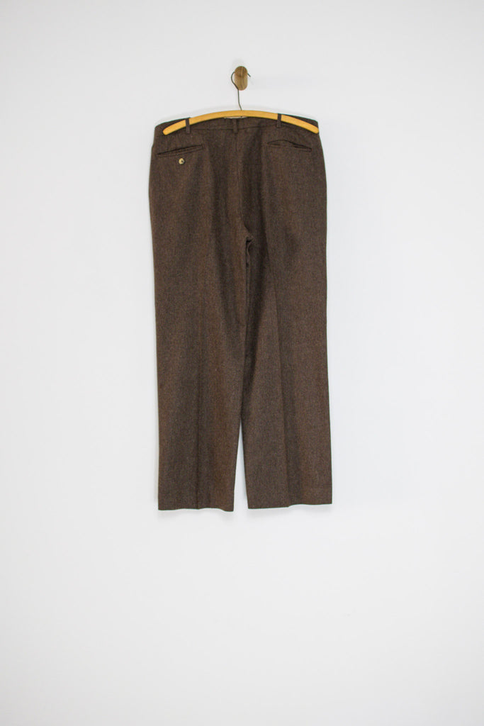 70's BROWN TROUSERS / 35