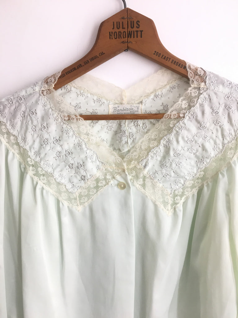 60's BARBIZON BED JACKET / SMALL