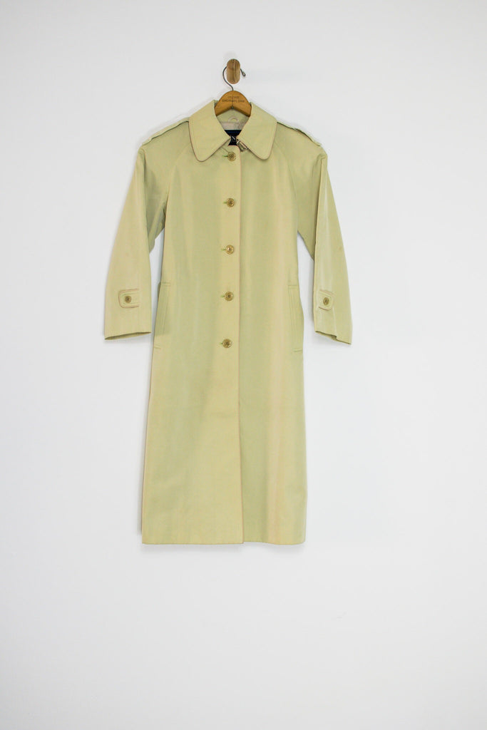 90's JAPANESE TRENCH COAT SZ S/M