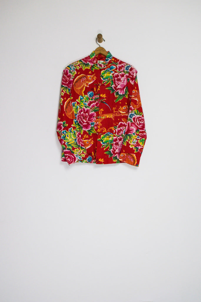 80's KHOI FISH JACKET / MEDIUM