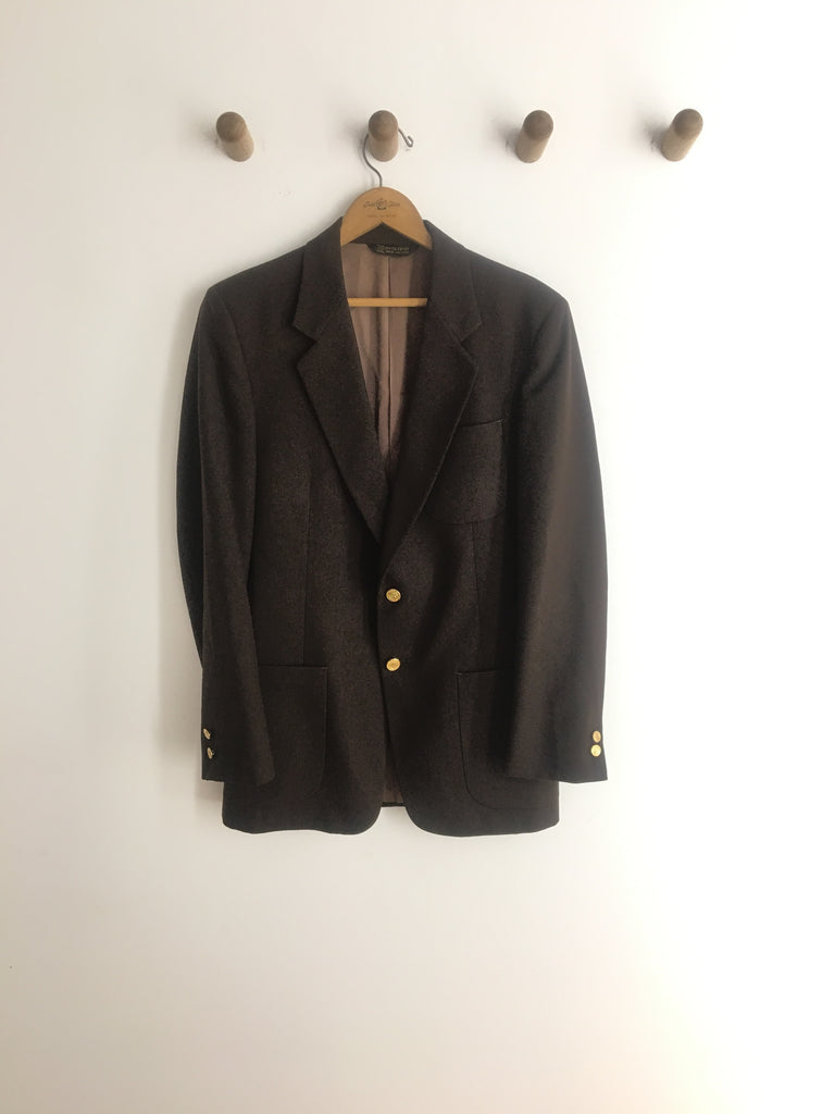 70's PIERRE CARDIN SUIT JACKET / MEDIUM