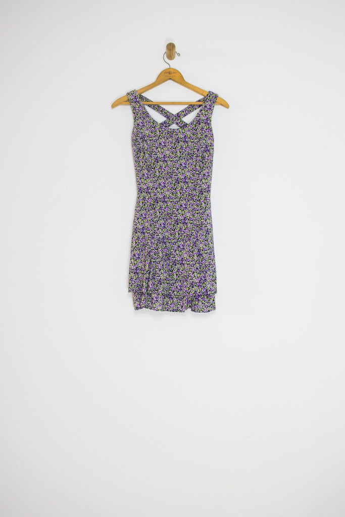 90's DITZY FLORAL MINI / EXTRA SMALL