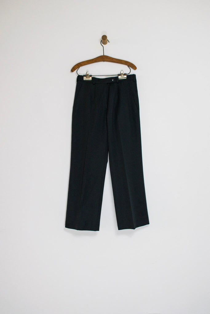 1980's/90's BLACK TROUSERS / 29