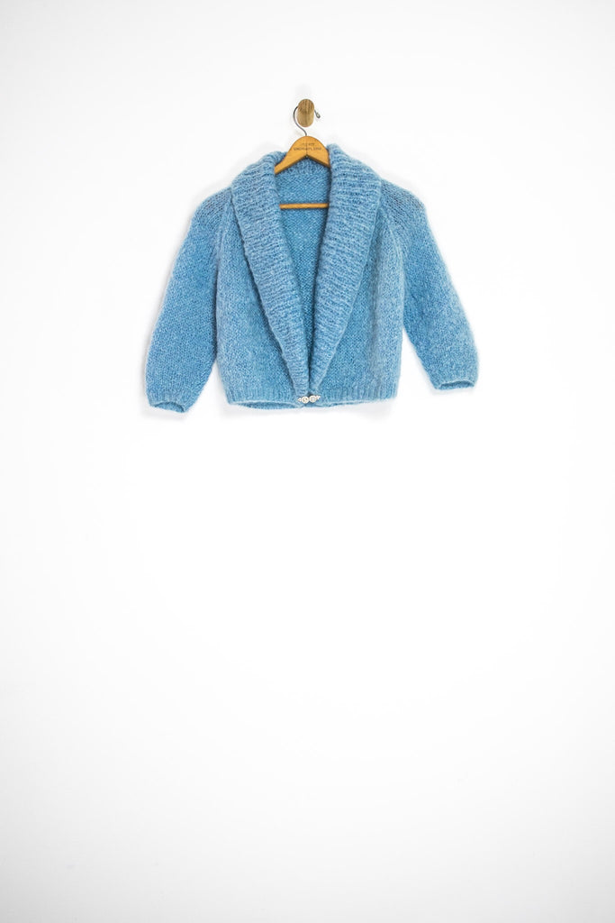 50's MOHAIR CARDIGAN / SMALL