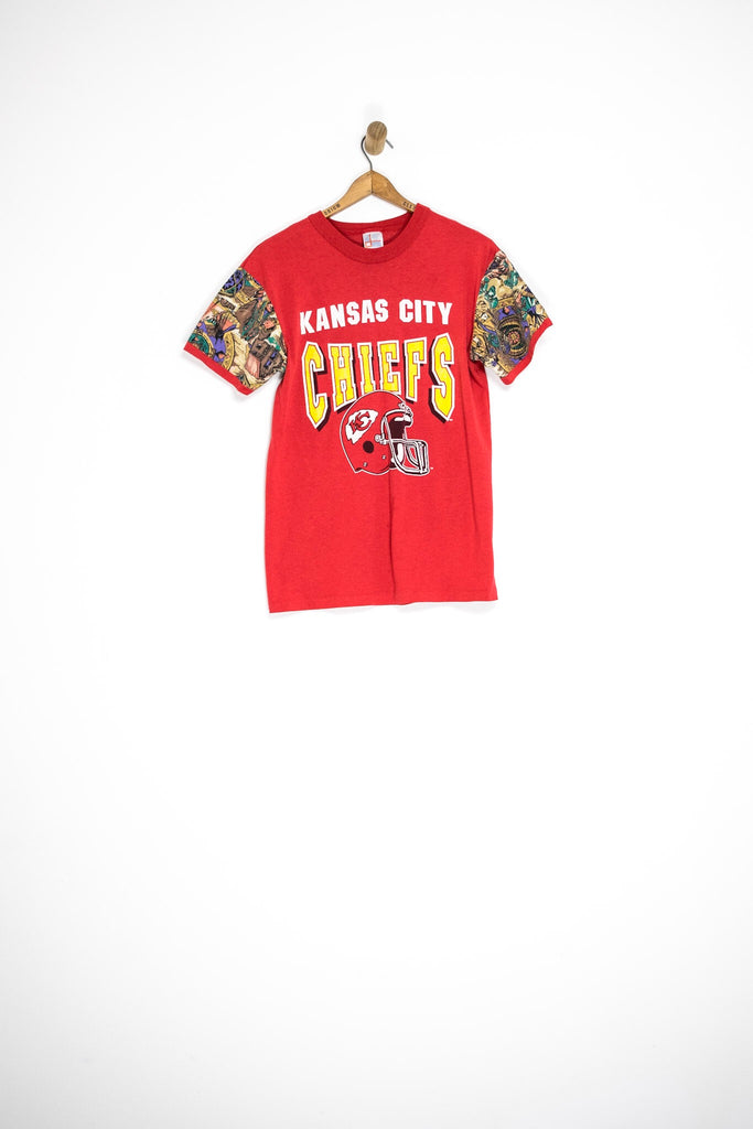 80's KANSAS CITY CHIEFS TEE / SMALL