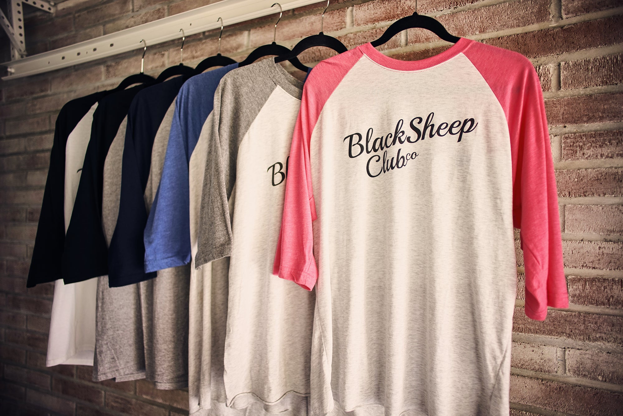 Baseball Tee - Black Sheep Club Co