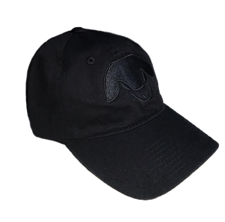 Sheep Head Strapback Hat - Black Sheep Club Co