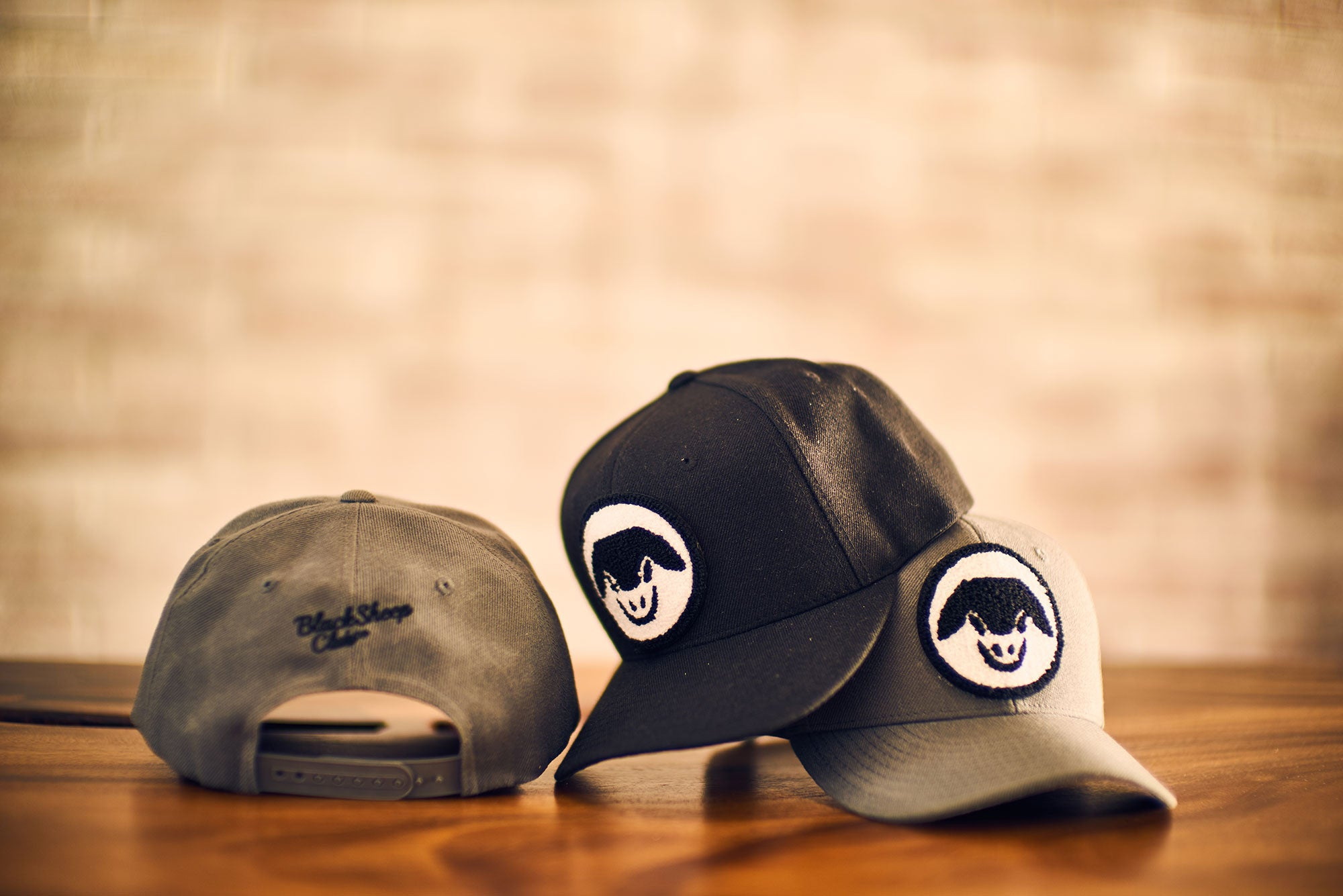 Wool Patch Snapback Hat - Black Sheep Club Co