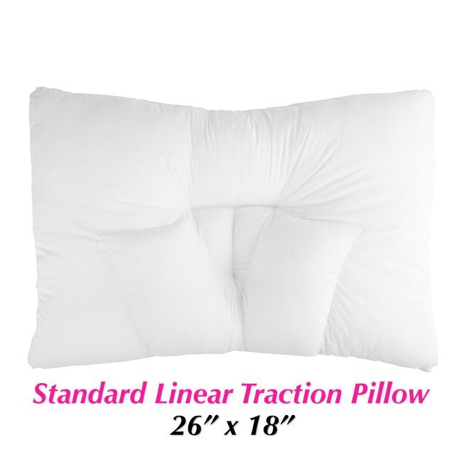 Medium Linear Traction-V Pillow