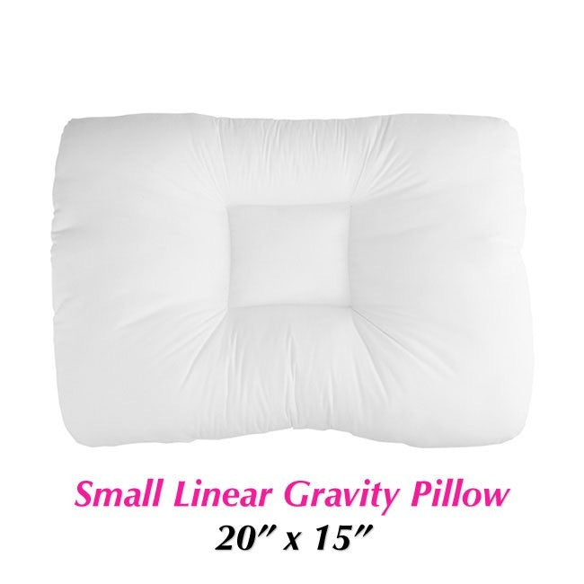 Small Linear Gravity Pillows