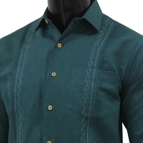 Guayabera Formal Green