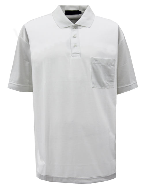 Playera Polo DryTouch / Blanco
