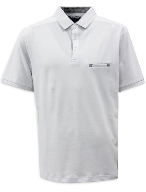 Playera Polo Blanca