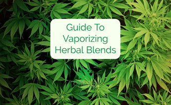 Guide To Vaporizing Herbal Blends