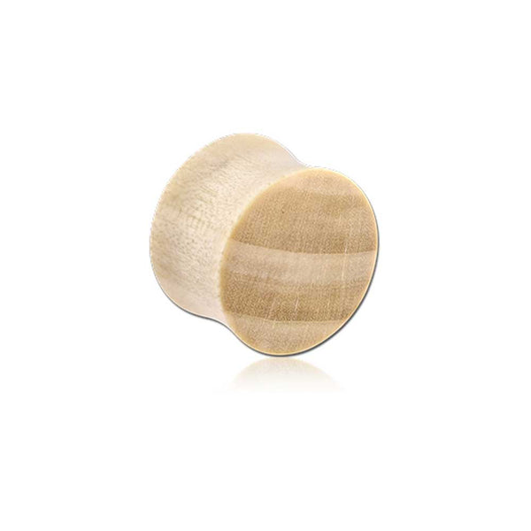 PLUG - CROCODILE WOODEN PLUG (BLONDE)