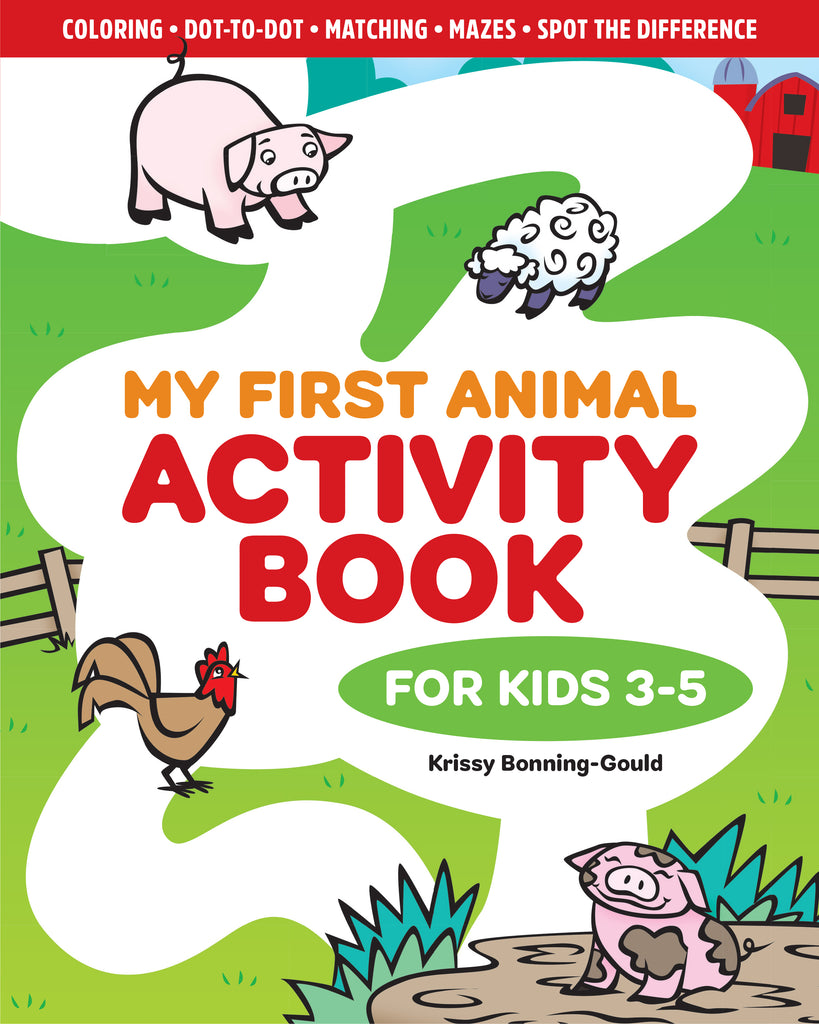 My First Animal Activity Book: For Kids 3-5 – Callisto Publisher's ...