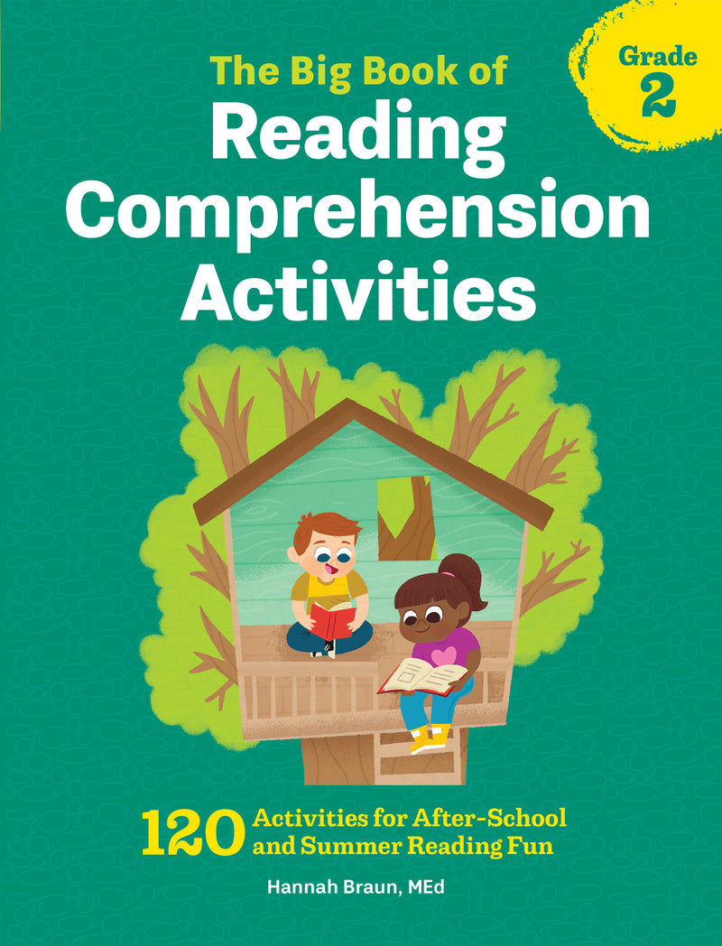 - The Big Book Of Reading Comprehension Activities, Grade 2: 120
