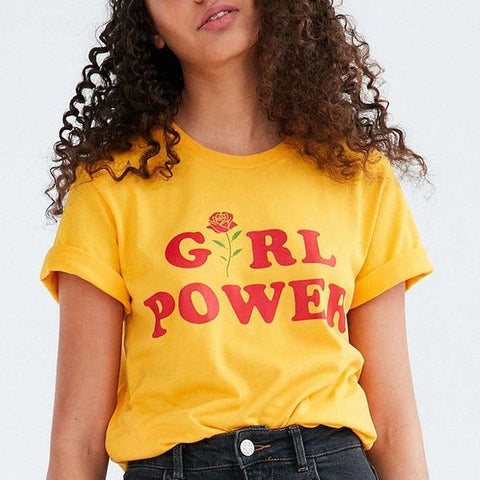 Girl Power Tshirt Feminism Tee Girl Power