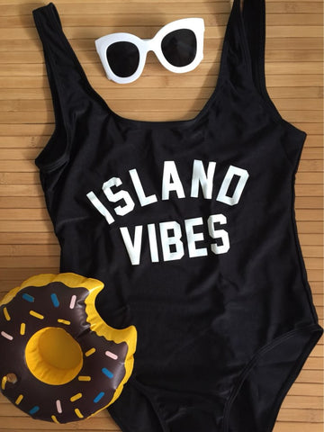 ISLAND VIBES Sexy One Piece Swimsuit