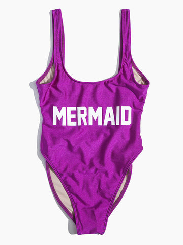 Mermaid Funny Sexy One Piece Swimsuit