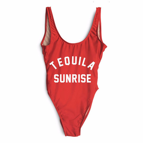 TEQUILA SUNRISE One Piece Swimsuit