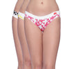 Classic Bikini Panty Pack Of 3 Multi Coloured S Size - PNA03ML01-S