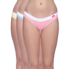 Classic Bikini Panty (Pack of 3) - Multi Coloured