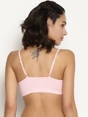 Miss BRAG Classic Bralette for Teenagers / Beginners - Orchid Pink: Japanese Girl Print