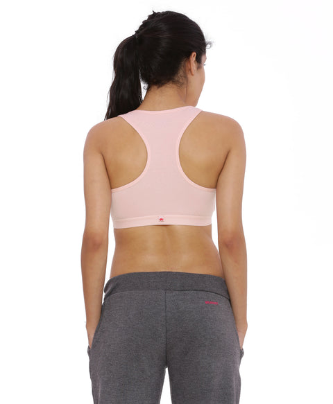 BRAG Classic Racerback Yoga Bra - Orchid Pink