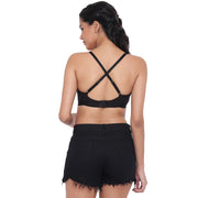 BRAG Classic Multiway Hook Back Bralette - Black