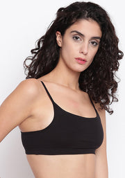 Miss BRAG Classic Bralette for Teenagers / Beginners - Black
