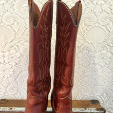 Tall Brick Red Miss Capezio Cowgirl Boots size 7 1/2M