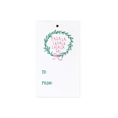 Falala Wreath Tag