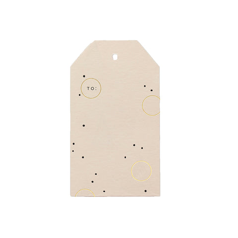 Joyful Dots Gift Tag