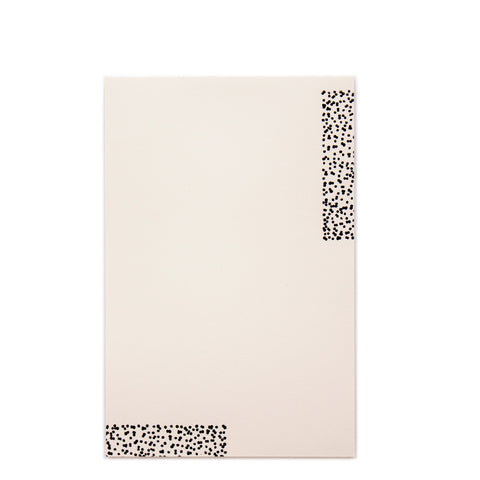 Speckles Letterpress Notepad