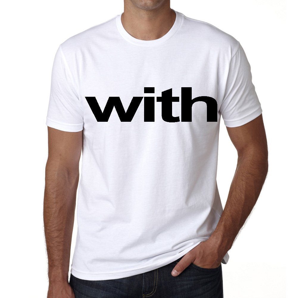 with Men's Short Sleeve Rounded Neck T-shirt