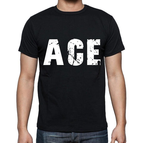 ace men t shirts,Short Sleeve,t shirts men,tee shirts for men,cotton,black