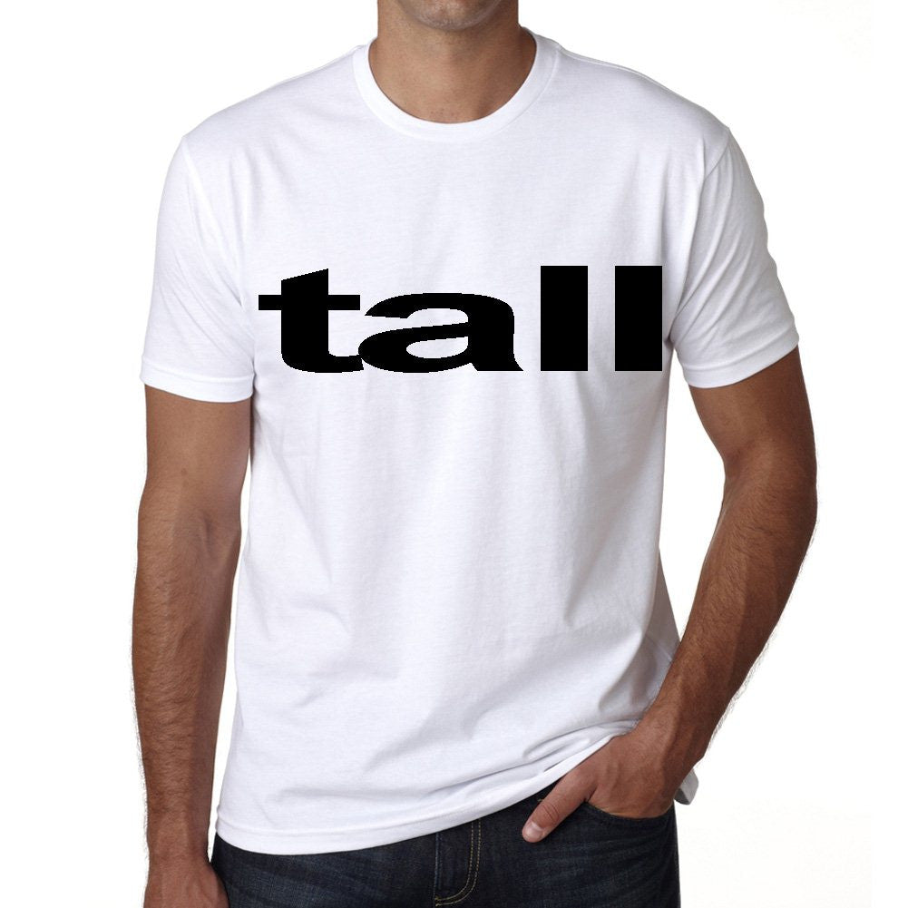 tall Men's Short Sleeve Rounded Neck T-shirt