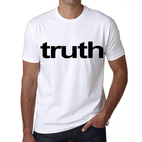truth Men's Short Sleeve Rounded Neck T-shirt