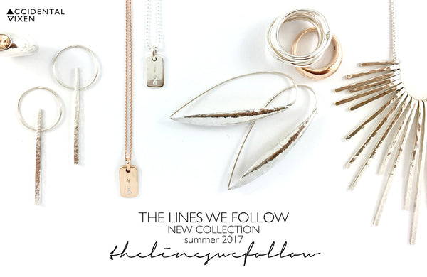 Accidental Vixen would like to invite you to the release of our latest collection The Lines We Follow. Click on the link to find out more.