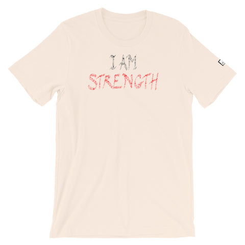 (NEW) I AM Strength Short-Sleeve Unisex T-Shirt