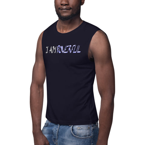 (NEW) I AM Powerful Muscle Shirt